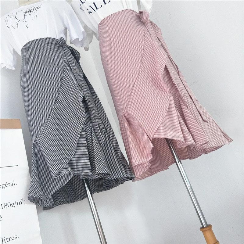 今年最流行的裹裙半身裙的制作方法,受用