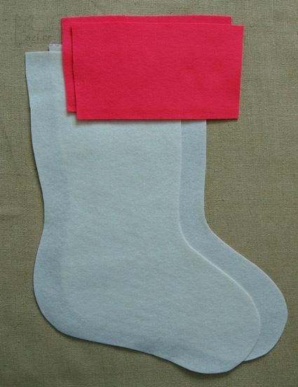 雪花圣诞袜[英文][图24张编号479]