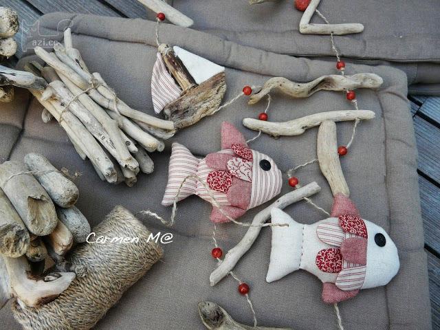 布艺小鱼玩偶,可做装饰,玩具等