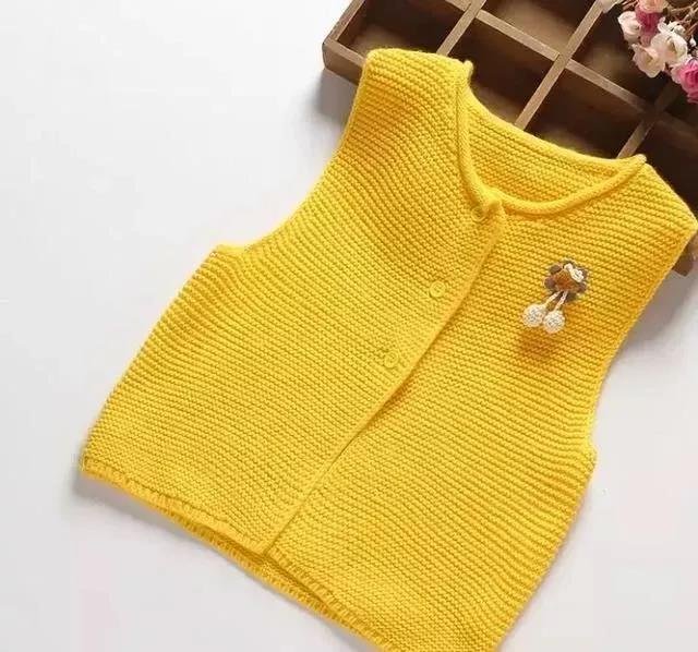 开春宝宝必备的毛线背心,这些款简直美得不像话!