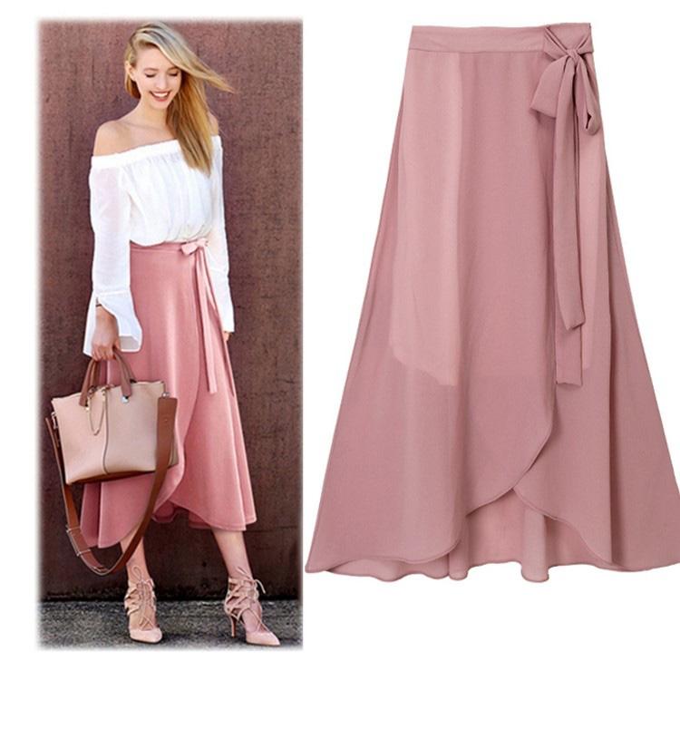 手工布艺一片式裙子绑带裙